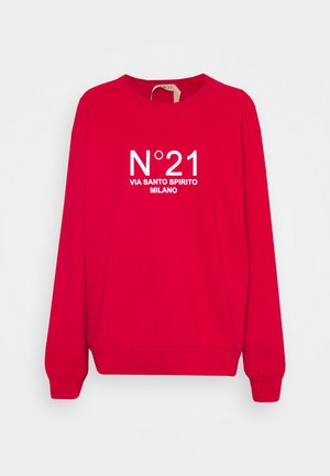 NEW LOGO - Sweatshirt - rosso