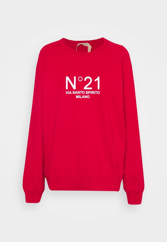 NEW LOGO - Sweater - rosso