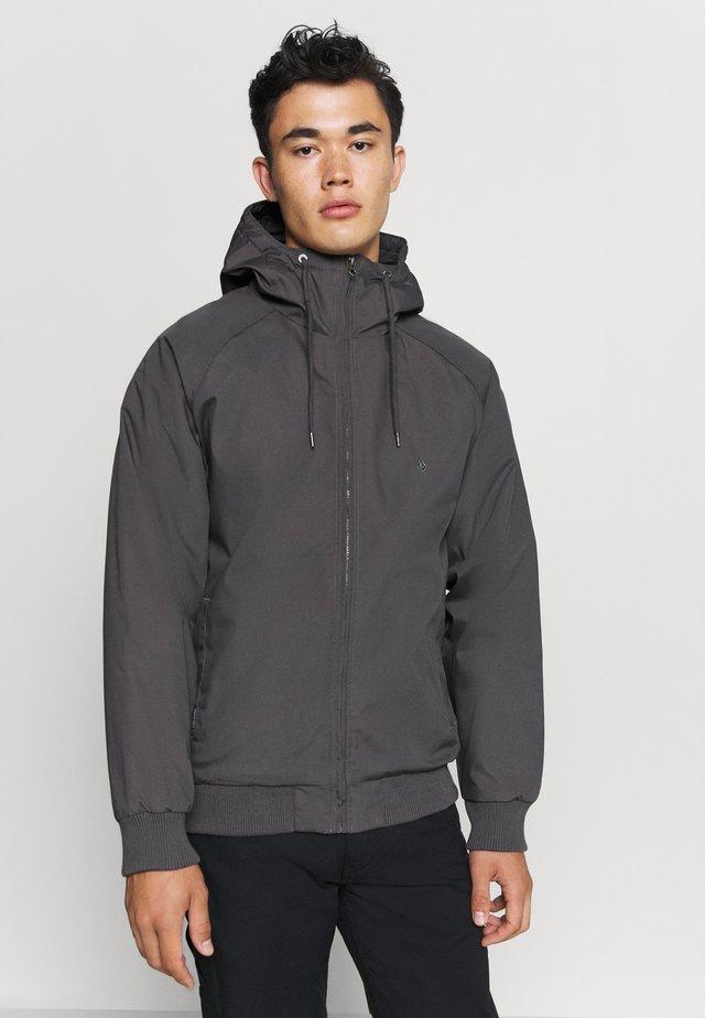 HERNAN - Winter jacket - dark charcoal