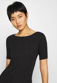 Marc O'Polo - SHORT SLEEVE BOAT NECK - Basic T-shirt - black - 3