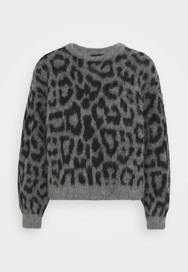 ROJANA - Stickad tröja - grau