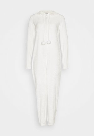CREAM CAT ONESIE  - Mono - cream