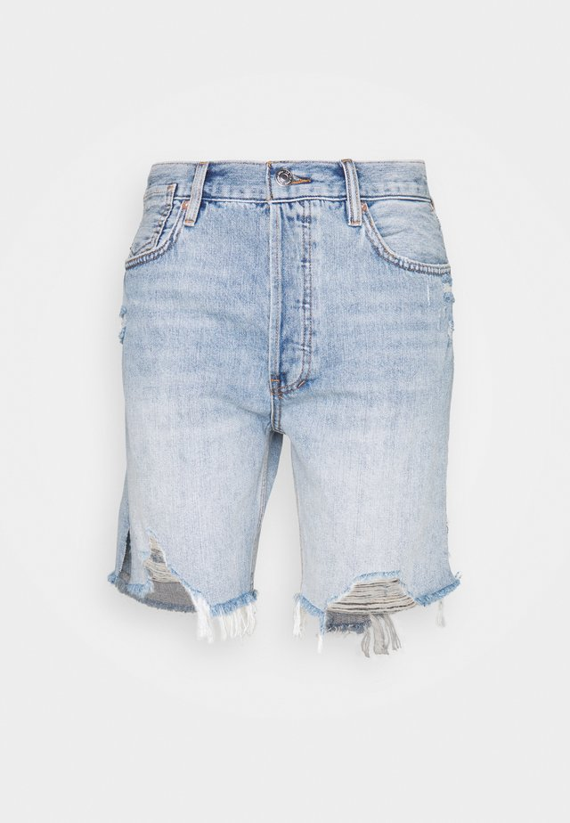 SEQUOIA - Short - vintage denim