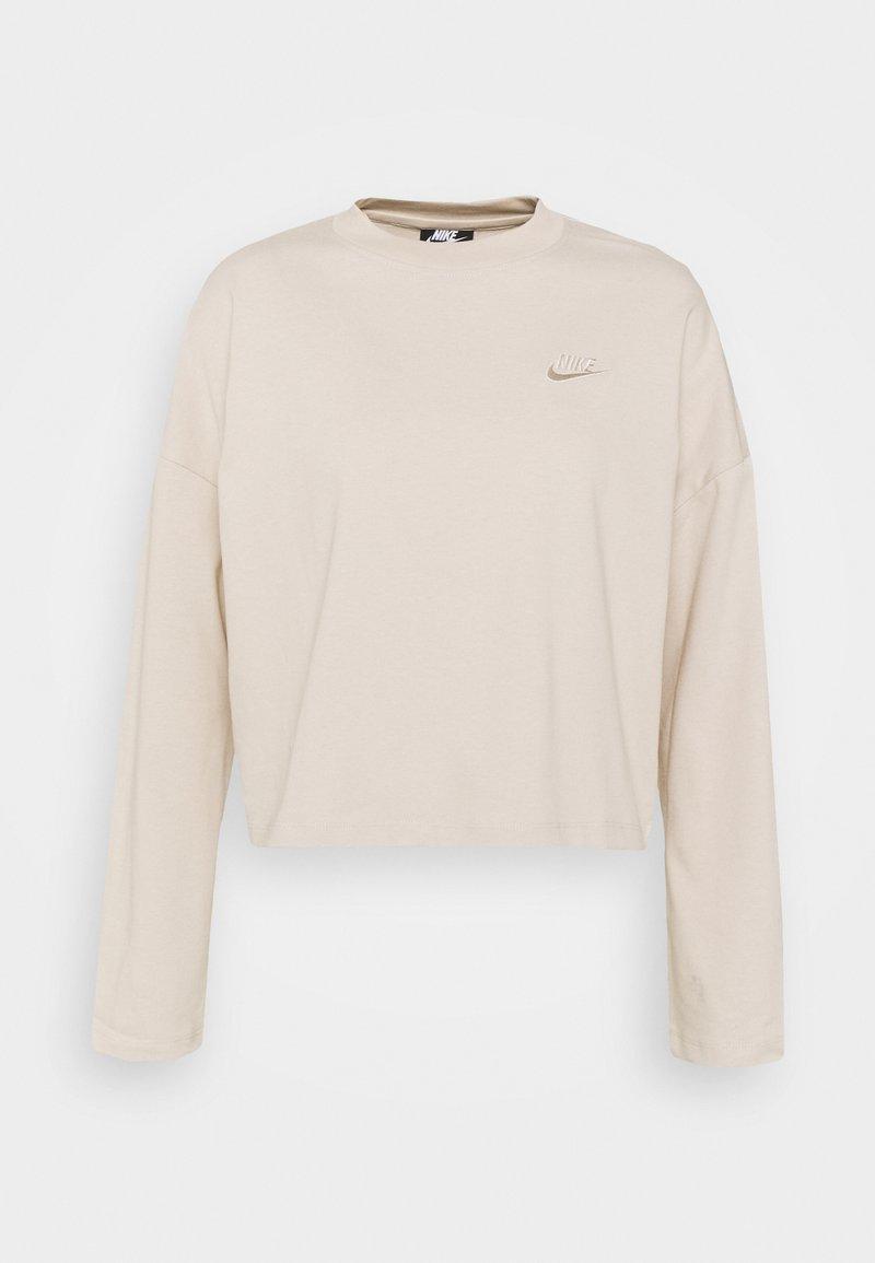 Nike Sportswear - W NSW LS  - Topper langermet - oatmeal
