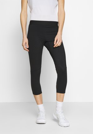 SUPPORT MID - Leggings - black