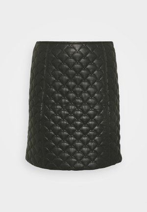 YASLANA - A-line skirt - black