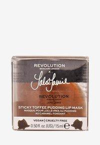 Revolution Skincare - REVOLUTION SKINCARE X JAKE JAMIE STICKY TOFFEE PUDDING LIP MASK - Lip scrub - - - 2