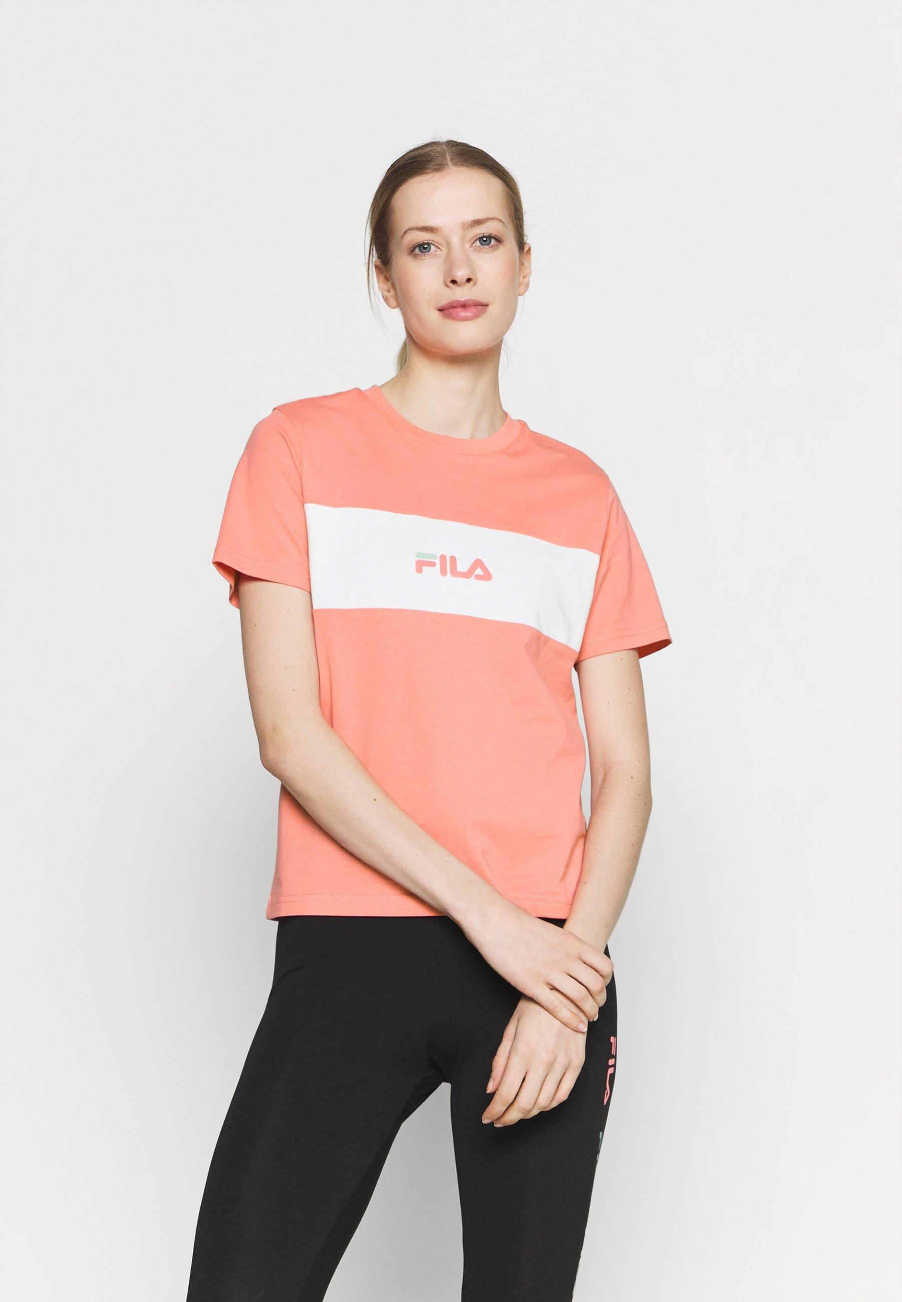 Damen RUBBY TEE BLOCKED - T-Shirt print