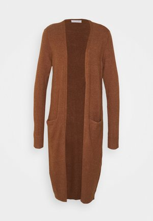 VIRIL LONG CARDIGAN  - Cardigan - tortoise shell/melange