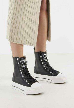 KAYA HIGH - Sneakers hoog - black