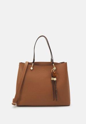 ELILALLAN - Handbag - cognac