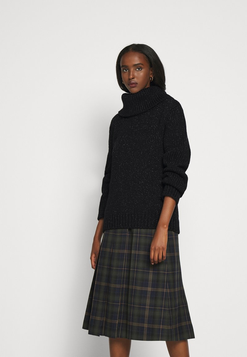 Mulberry - MAY ROLL NECK - Jumper - black