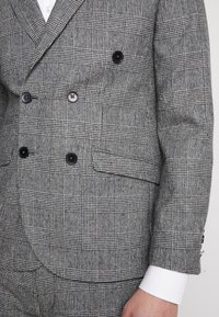 Shelby & Sons - KIRKHAM SUIT DOUBLE BREASTED  - Suit - grey - 9