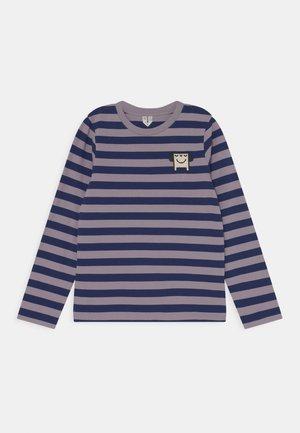 UNISEX - Long sleeved top - purple stripe
