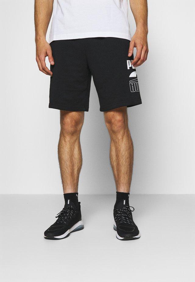 REBEL SHORTS - Pantaloncini sportivi - black