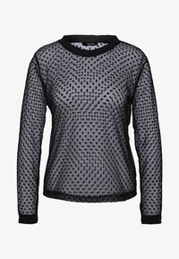 Trendyol - Long sleeved top - black