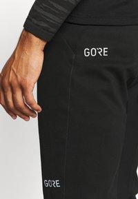 Gore Wear - WINDSTOPPER TRAIL PANTS - Pantalons outdoor - black - 5