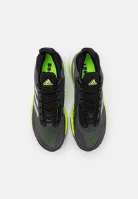 adidas Performance - SOLAR GLIDE BOOST RUNNING SHOES - Zapatillas de running neutras - grey five/silver metallic/signal green - 3