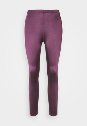 EARLINE - Leggings - prune