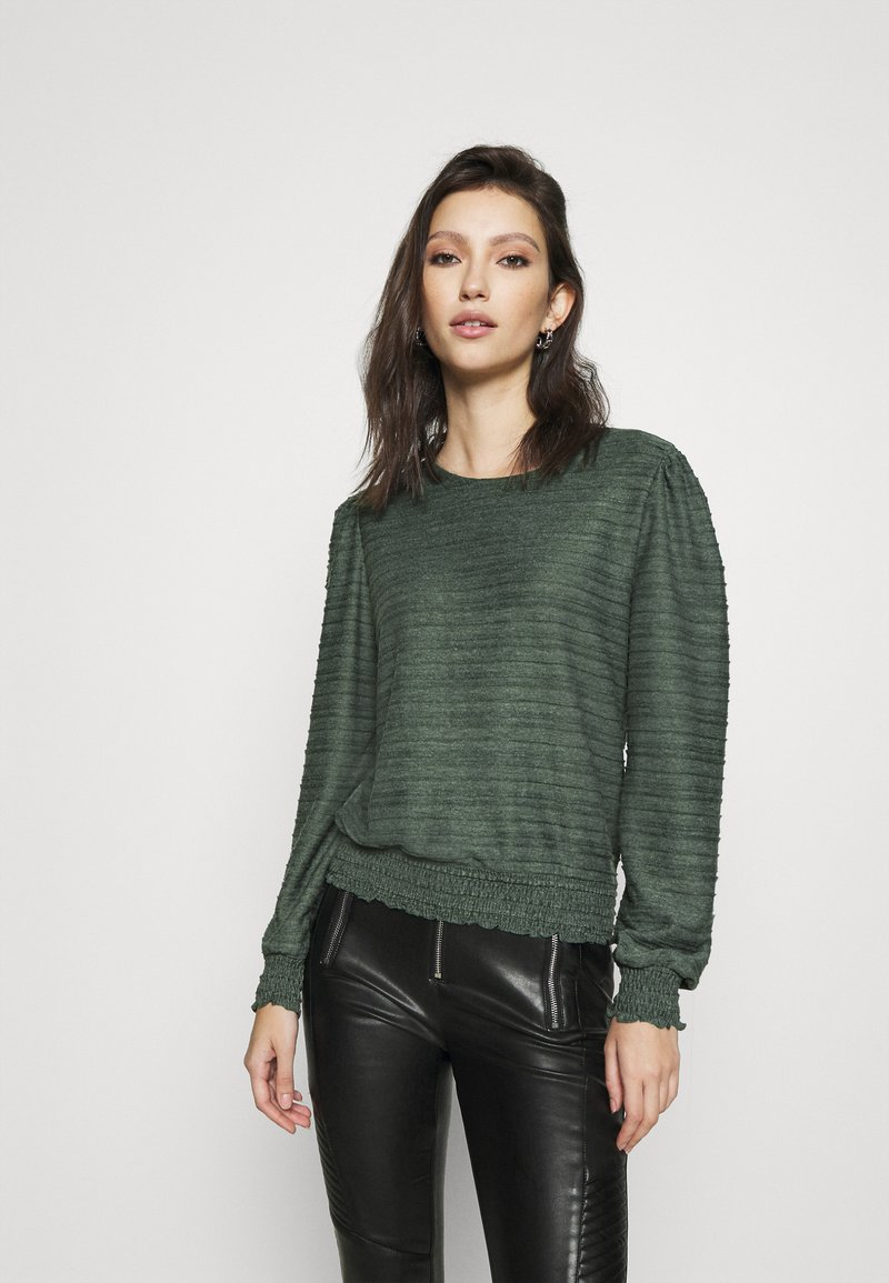 ONLY - ONLKELLY SHORT - Long sleeved top - pine grove