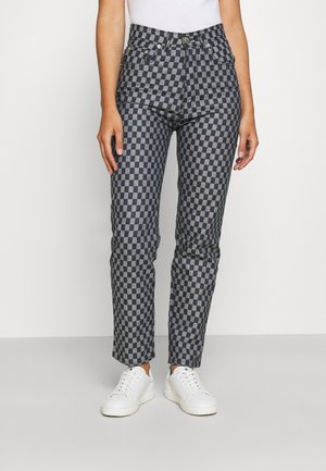 CHECKERBOARD - Jeans a sigaretta - light vintage