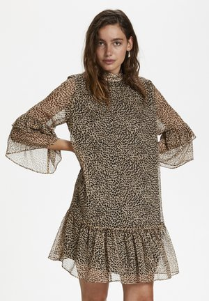 SLAMOS  - Day dress - mini leopard dot