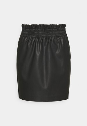 ONLPINZON SKIRT - Mini skirt - black