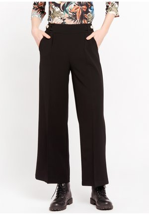P-MONALY - Trousers - black