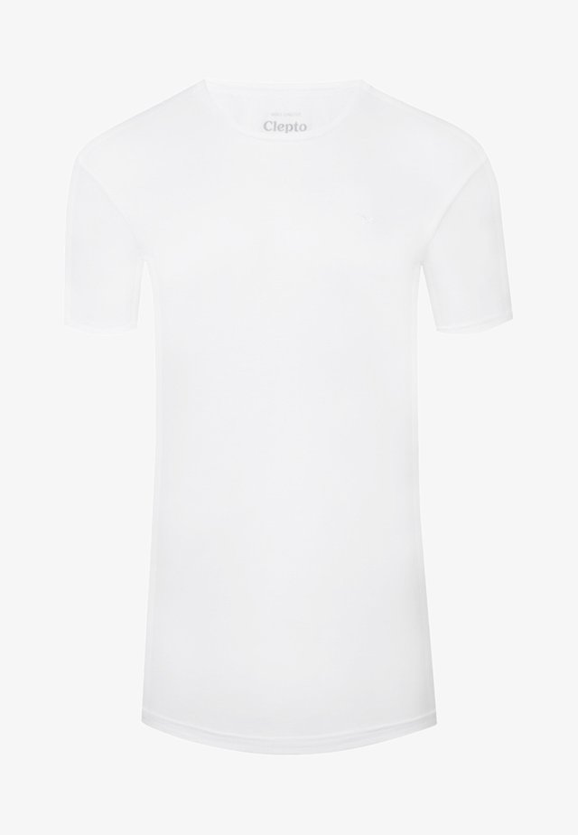 LIGULL LONG  - T-shirt basique - white