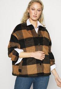 AllSaints - LUELLA CHECK JACKET - Light jacket - brown/black - 3