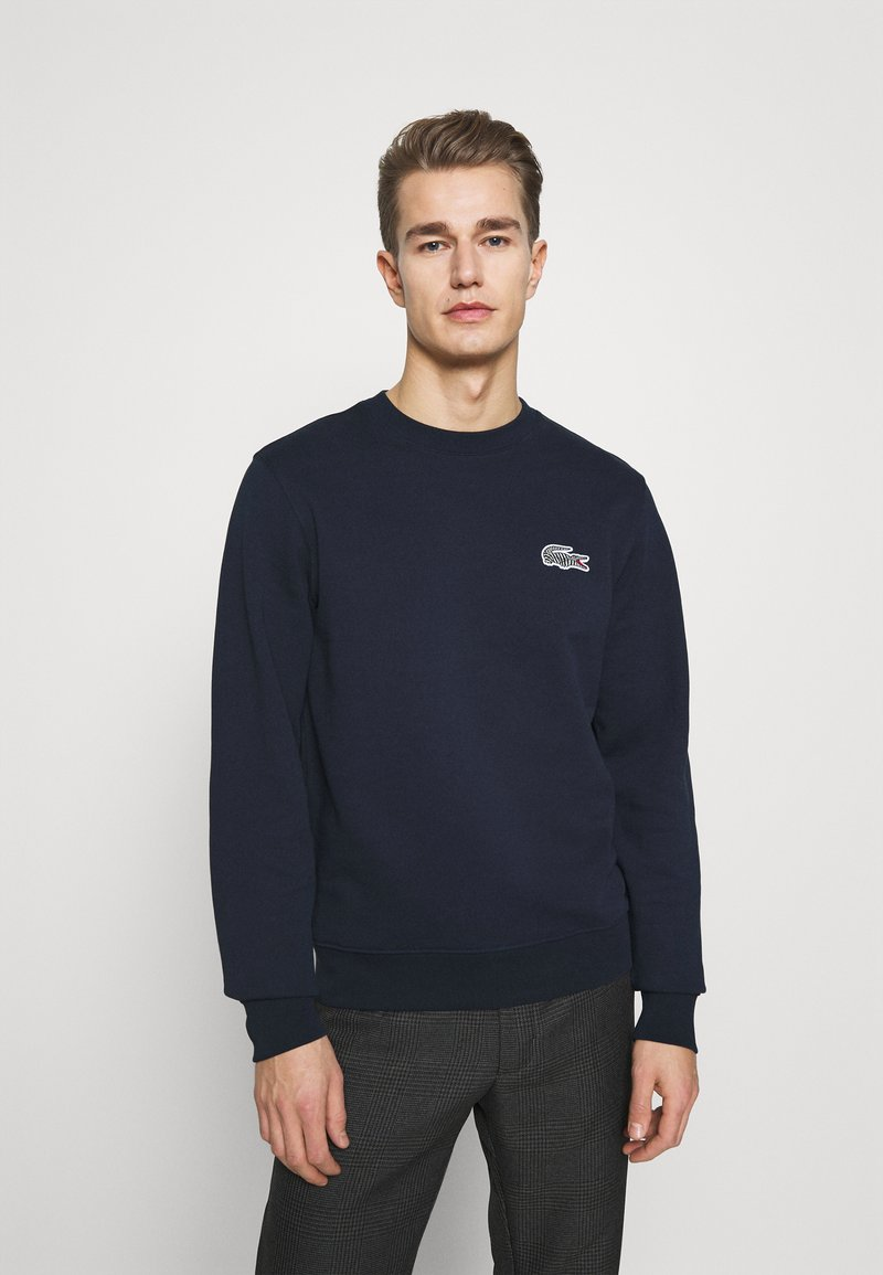 Lacoste - LACOSTE X NATIONAL GEOGRAPHIC - Collegepaita - navy blue
