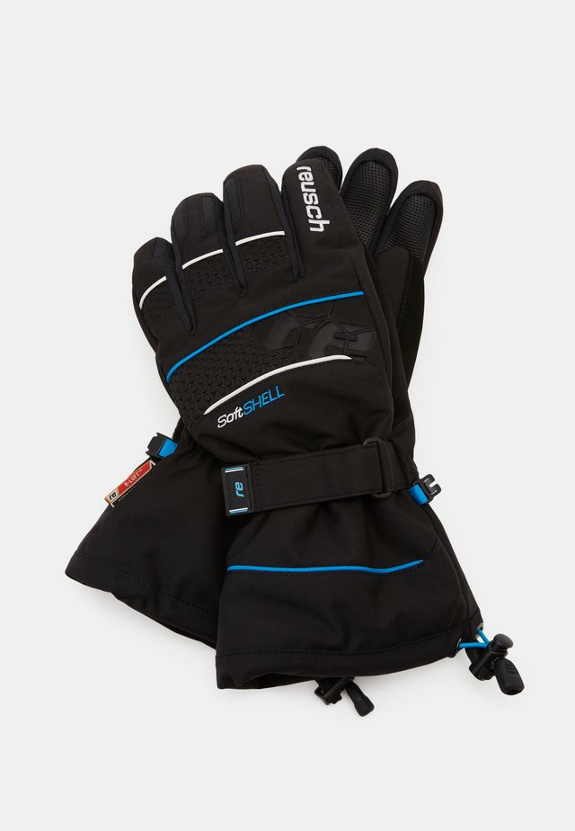 CONNOR R-TEX - Fingervantar - black/brilliant blue