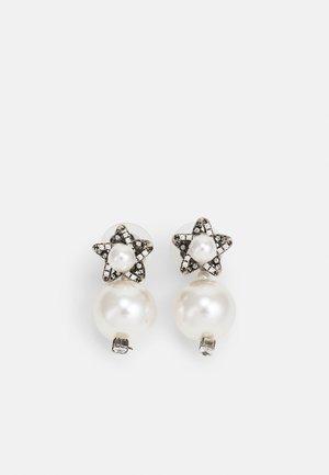 EARRINGS BEAD - Boucles d'oreilles - silver-coloured