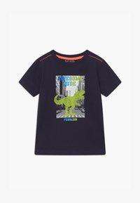Blue Seven - SMALL BOYS T-REX DINOSAUR - Print T-shirt - nachtblau - 0