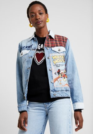 CHAQ MICKEY - Denim jacket - denim light wash
