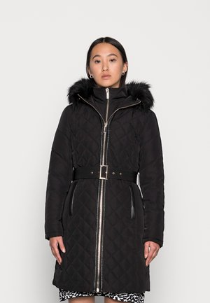 SALLY QUILTED PUFFER - Classic coat - black