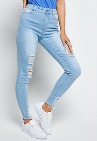 SIKSILK - Jeans Skinny Fit - ice blue - 2
