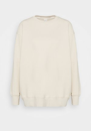 Sweatshirt - white dusty