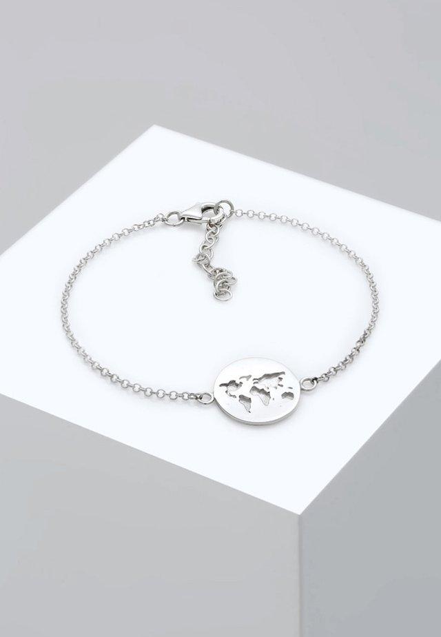 WELTKUGEL  - Armband - silver
