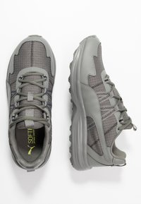 Puma - ESCALATE - Trail running shoes - ultra gray/black/fizzy yellow - 1