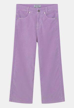 GIRLS CROPPED PALAZZO - Tygbyxor - violett reactive
