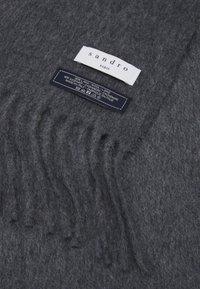 sandro - SHABO UNISEX - Scarf - gris chine - 2