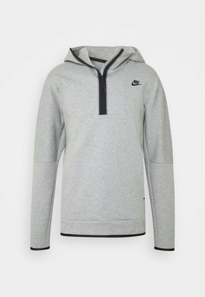 Mikina s kapucí -  grey heather/black