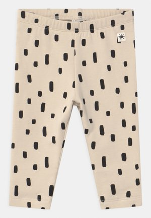 DOTS - Leggings - Trousers - beige