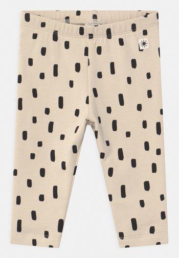 DOTS - Leggings - Trousers - beige