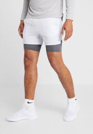 STRIDE SHORT  - Urheilushortsit - football grey/iron grey/reflective silver