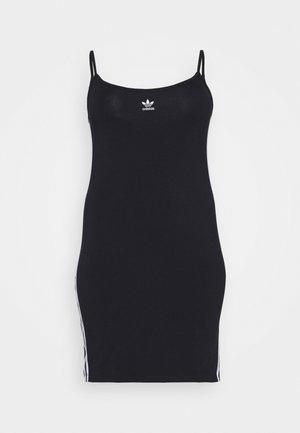 SPORTS INSPIRED DRESS - Etuikjoler - black/white