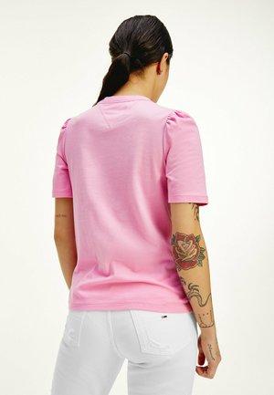 TJW SLIM RUFFLED  - T-shirt basique - pink daisy