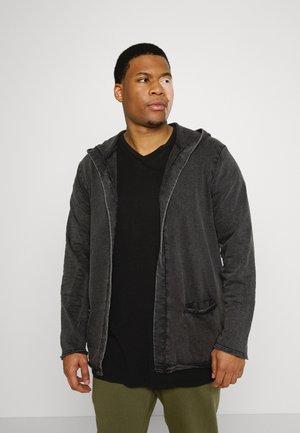 SIAQ PLUS - Zip-up sweatshirt - black