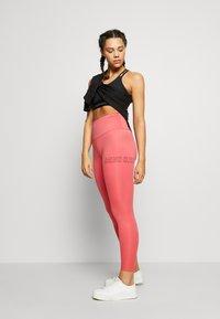 Calvin Klein Performance - FULL LENGTH - Leggings - red - 1
